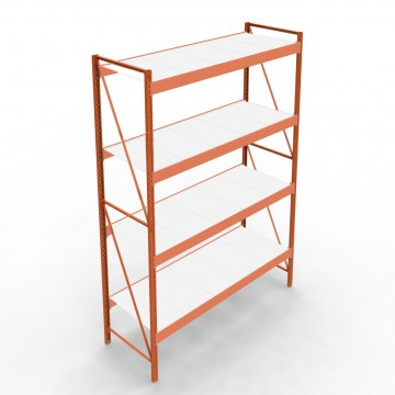 Minirack storage shelving