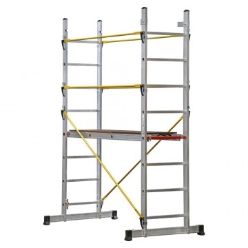 Platformed Ladder