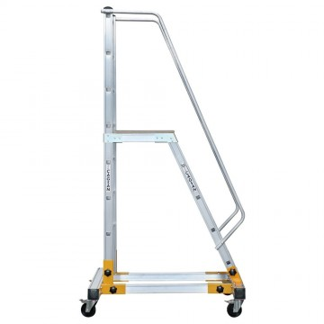 Mobile Ladder With Platform